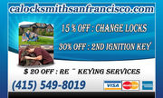 Automotive Locksmith in San Francisco
